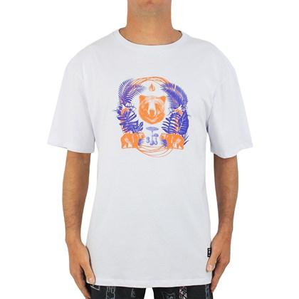 Camiseta Extra Grande Grizzly Animal Kingdom White