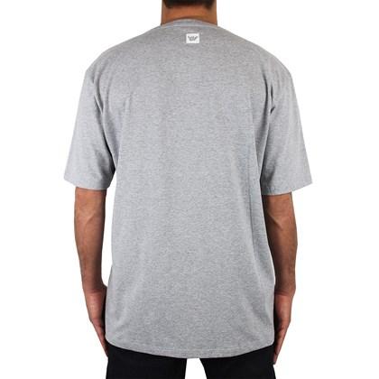 Camiseta Extra Grande Hang Loose Colorbow Cinza Mescla