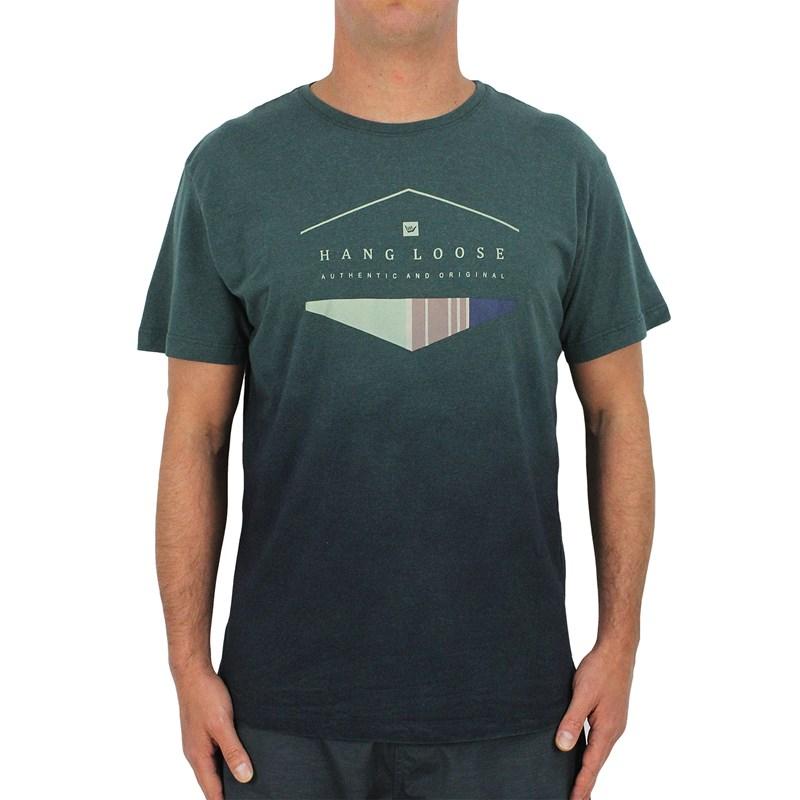 Camiseta Extra Grande Hang Loose Especial Vintage Verde