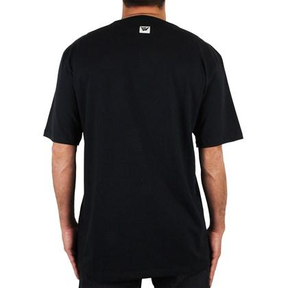 Camiseta Extra Grande Hang Loose Hangten Preta