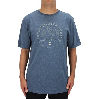 Camiseta Extra Grande Hang Loose Kauai Marinho