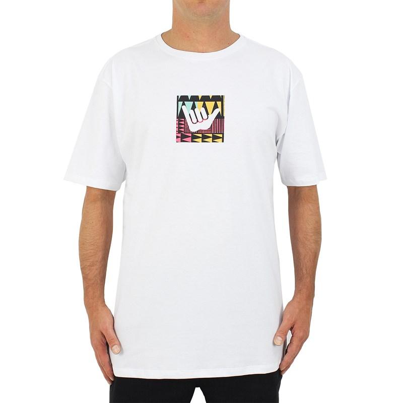 Camiseta Extra Grande Hang Loose Logotrib Branca