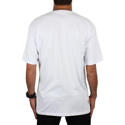 Camiseta Extra Grande Hang Loose Oahu Branca