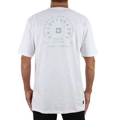 Camiseta Extra Grande Hang Loose Ride White