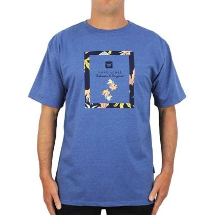 Camiseta Extra Grande Hang Loose Square Fish Dark Blue