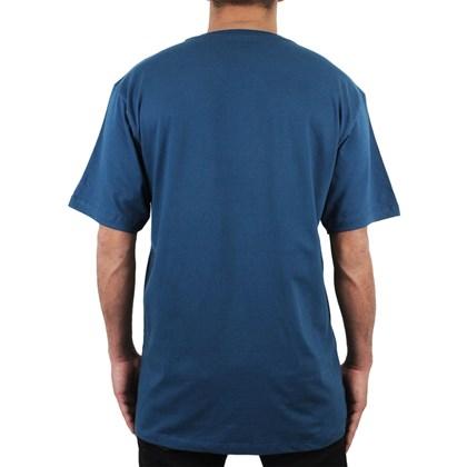 Camiseta Extra Grande Hurley Beachside Azul Marinho