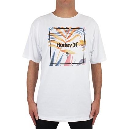 Camiseta Extra Grande Hurley Breezby Branca