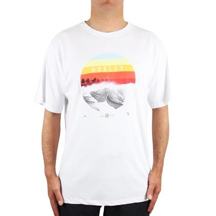 Camiseta Extra Grande Hurley Dusk Branca