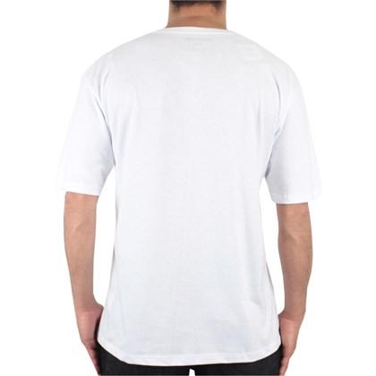 Camiseta Extra Grande Hurley Especial Squared Branca
