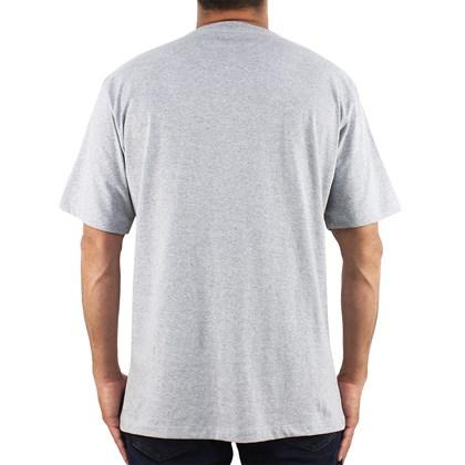Camiseta Extra Grande Hurley Icon Heather Grey