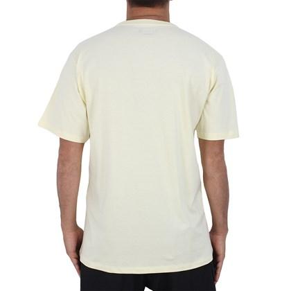 Camiseta Extra Grande Hurley Lost In Bali Amarela