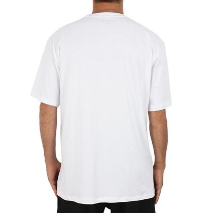 Camiseta Extra Grande Hurley Lost In Bali Branca