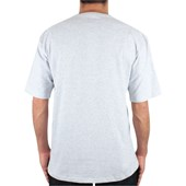 Camiseta Extra Grande Hurley O&O Push Through Cinza Mescla