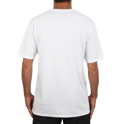 Camiseta Extra Grande Hurley One & Only Branca