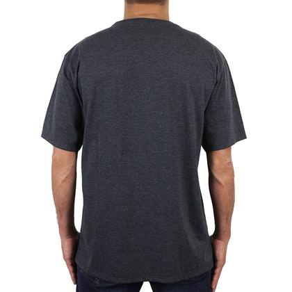Camiseta Extra Grande Hurley Particles Mescla Preto