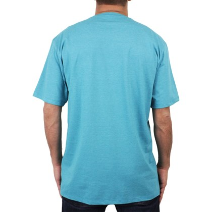 ... Camiseta Extra Grande Hurley Wait For It Azul Mescla 80a3a9c4cbd