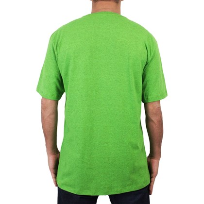 Camiseta Extra Grande Hurley Wait For It Verde Mescla
