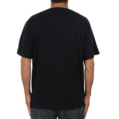 Camiseta Extra Grande Natural Art Design Skull Black