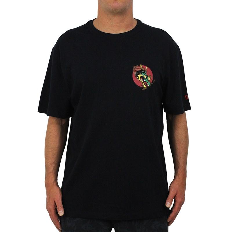 Camiseta Extra Grande New Era Flag Dude Black
