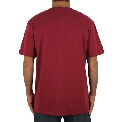 Camiseta Extra Grande New Era MLB Boston Red Sox Heritage Flag Red