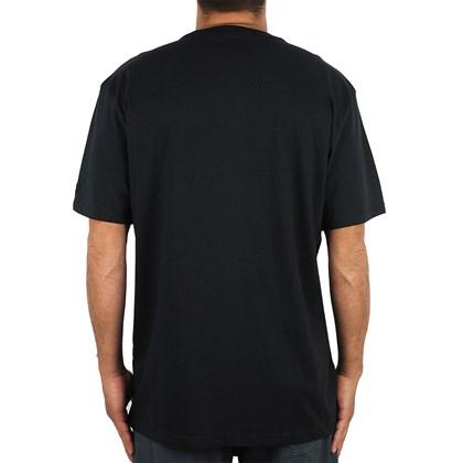 Camiseta Extra Grande New Era MLB New York Yankees Outline Preta