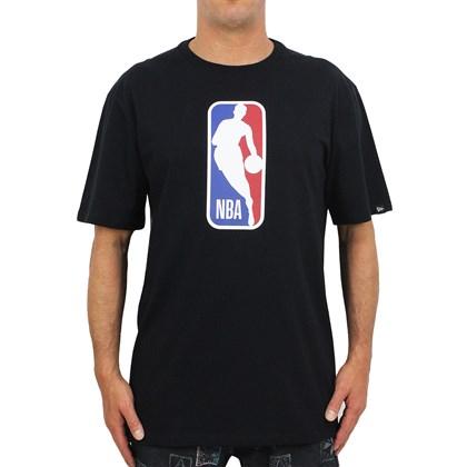 Camiseta Extra Grande New Era NBA Basic Black