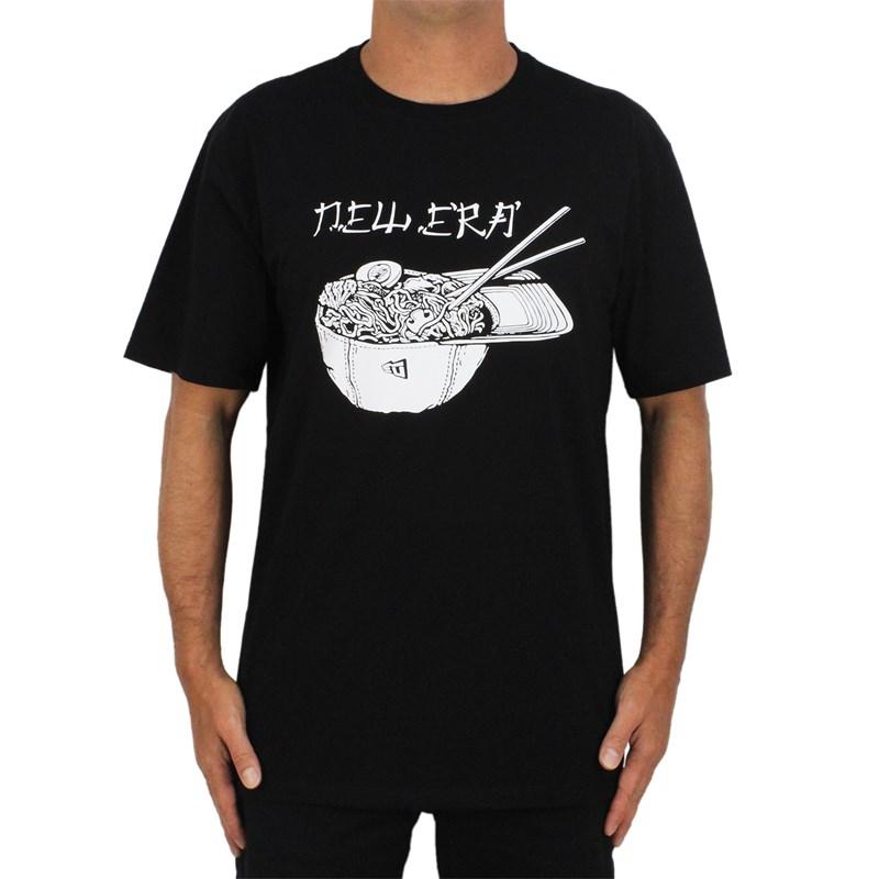 Camiseta Extra Grande New Era Trick Me Lamen Black