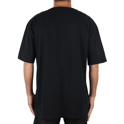 Camiseta Extra Grande Quiksilver CA Logo Black