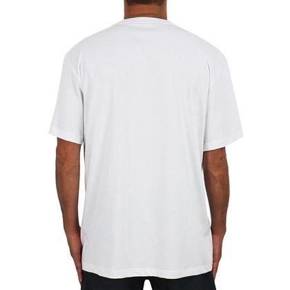 Camiseta Extra Grande Quiksilver Embroidery Branca