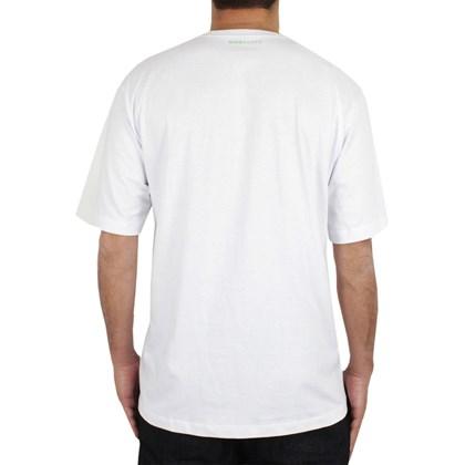Camiseta Extra Grande Quiksilver Peak Rock Branca