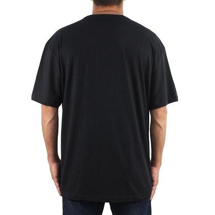 Camiseta Extra Grande Quiksilver Wilder Mile Black