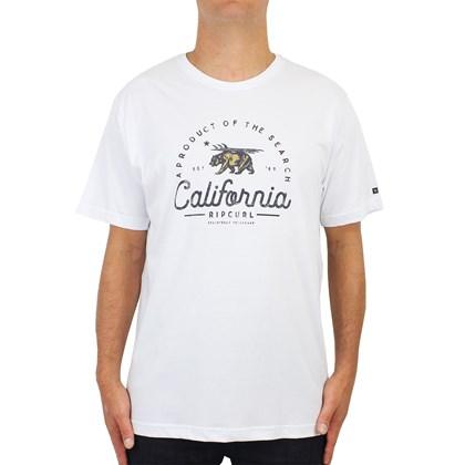 Camiseta Extra grande Rip Curl Cali Style Branca
