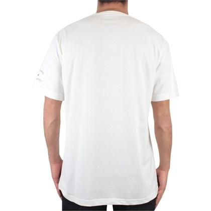 Camiseta Extra Grande Rip Curl Calisurf Bear Off White