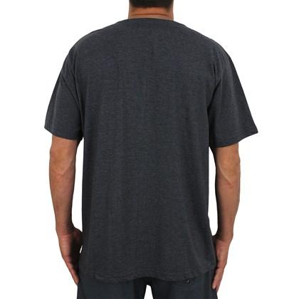 Camiseta Extra Grande Rip Curl Corp III Black Marle