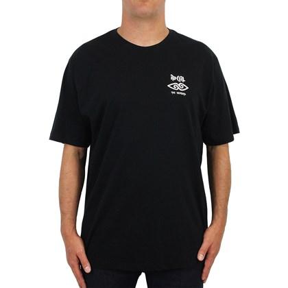 Camiseta Extra Grande Rip Curl Cosmic Mountain Black
