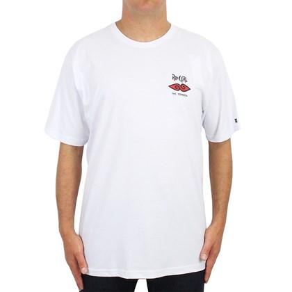Camiseta Extra Grande Rip Curl Cosmic Mountain White