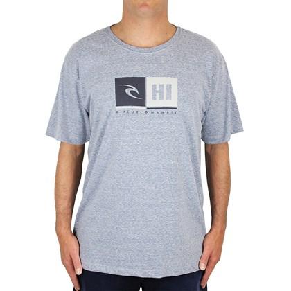 Camiseta Extra Grande Rip Curl Destination Mid Blue