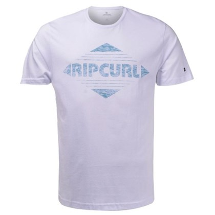 Camiseta Extra Grande Rip Curl Diamonds White