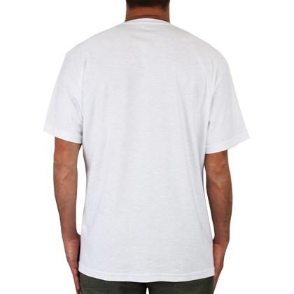 Camiseta Extra Grande Rip Curl Especial Wett Pocket Branca