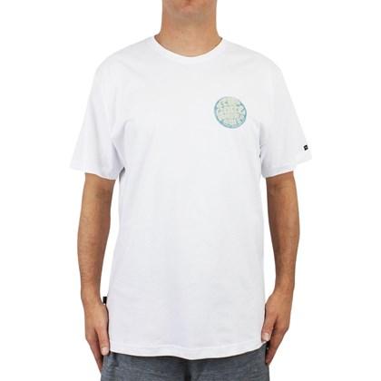 Camiseta Extra Grande Rip Curl Jan Juc White