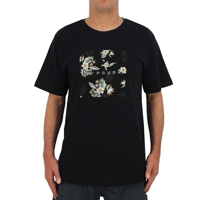 Camiseta Extra Grande Rip Curl New Fill Black