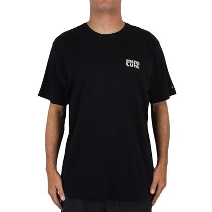 Camiseta Extra Grande Rip Curl Psicadelic Black