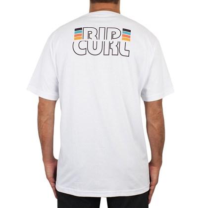Camiseta Extra Grande Rip Curl Psicadelic White