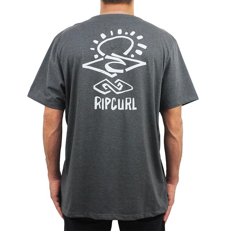 Camiseta Extra Grande Rip Curl Search Black Marle