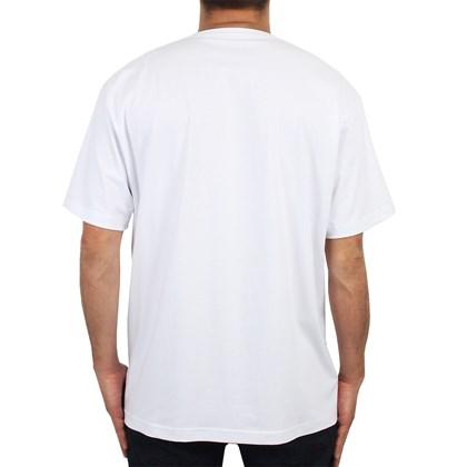 Camiseta Extra Grande Rip Curl Six Nine Stretch White