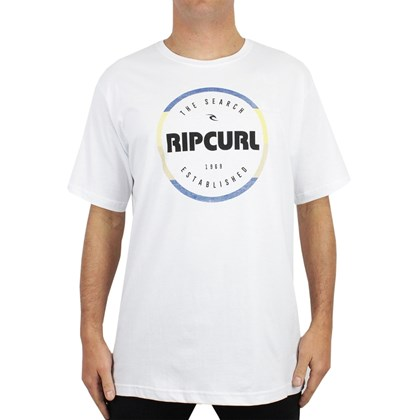 Camiseta Extra Grande Rip Curl Style Masters Heather White