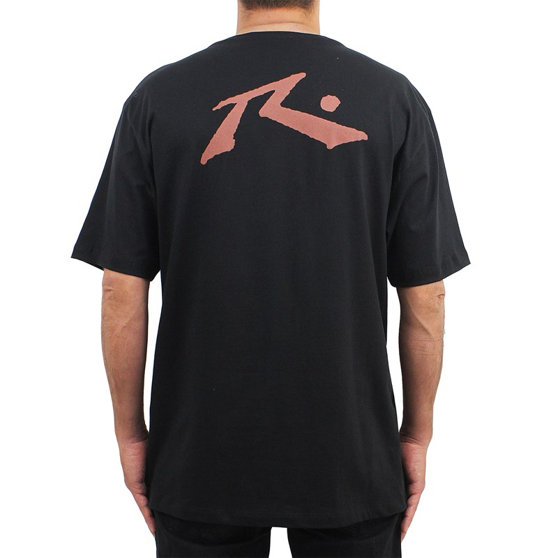 Camiseta Extra Grande Rusty Competition Black Red