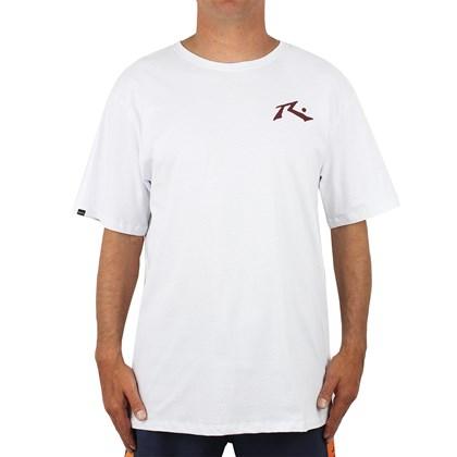 Camiseta Extra Grande Rusty Competition Branca
