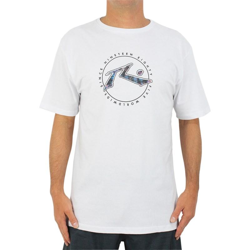 Camiseta Extra Grande Rusty Dayzed White