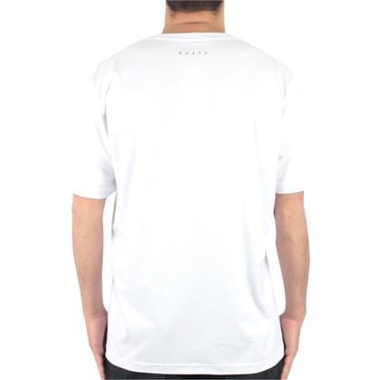 Camiseta Extra Grande Rusty Drop Branca